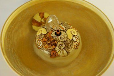 ammonite cat water fountain
