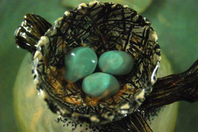 robins nest cat fountain
