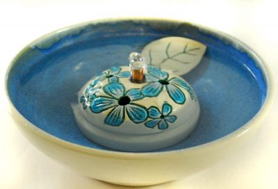 Blue Phlox cat water fountain