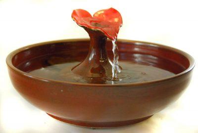 Sedona Heart cat water fountain