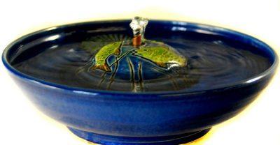 ceramic trout fountain