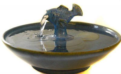 "Cat Fountain ""Waterwheel"""