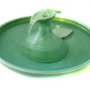 "Cat Water Fountain ""Sweet Leaf"""