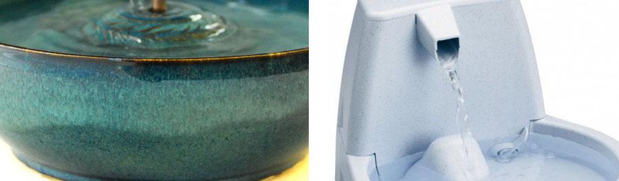 water fountain porosity